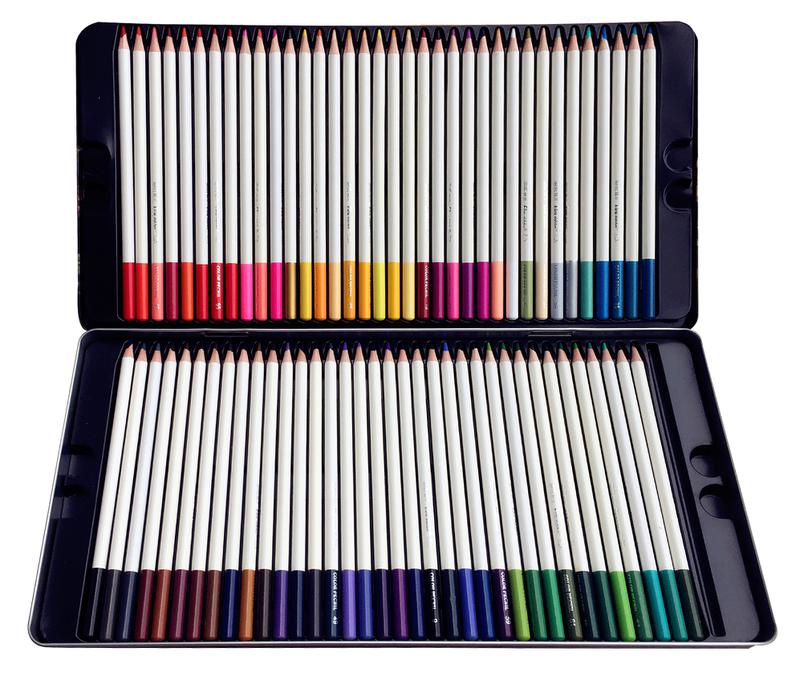 72Pack Premium Artst Soft colored  pencils Set