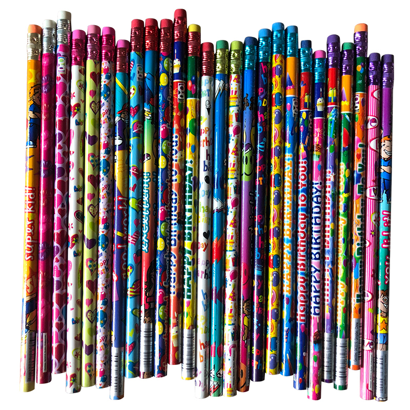 Stationery Assorted Colorfull HB Pencils